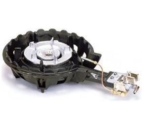 【送料無料】新品!タチバナ 鋳物コンロハイカロリーバーナー TS-208P[厨房一番]