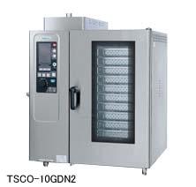 【送料無料】新品!タニコー ガス式 デラックススチームコンベクションオーブン W950*D750*H1100 TSCO-10GDN2 [厨房一番]