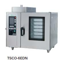 【送料無料】新品!タニコー 電気式 デラックススチームコンベクションオーブン W950*D750*H820 TSCO-6EDN [厨房一番]