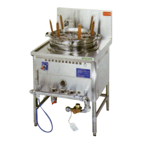 新品 タニコー 中華ゆで麺器(余熱タンク付)[フリザル6つ] TU-1ND