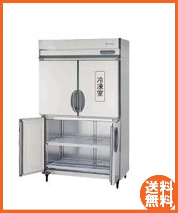 【送料無料】新品!フクシマ 4枚扉インバーター冷凍冷蔵庫 ARD-121PM-F[厨房一番]