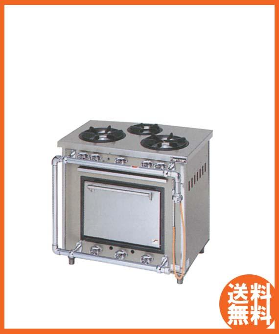 【送料無料】新品!マルゼン スタンダード ガスレンジ(3口)MGR-096DS [厨房一番]