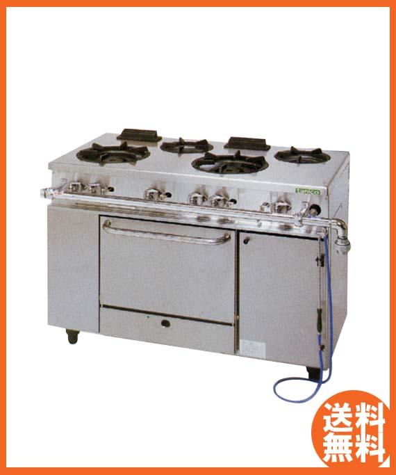 【送料無料】新品!タニコー ガスレンジ(4口) NR1222 [厨房一番]