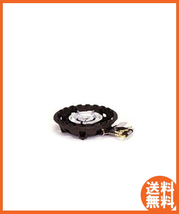 【送料無料】新品!タチバナ 鋳物コンロハイカロリーバーナー TS-218P[厨房一番]