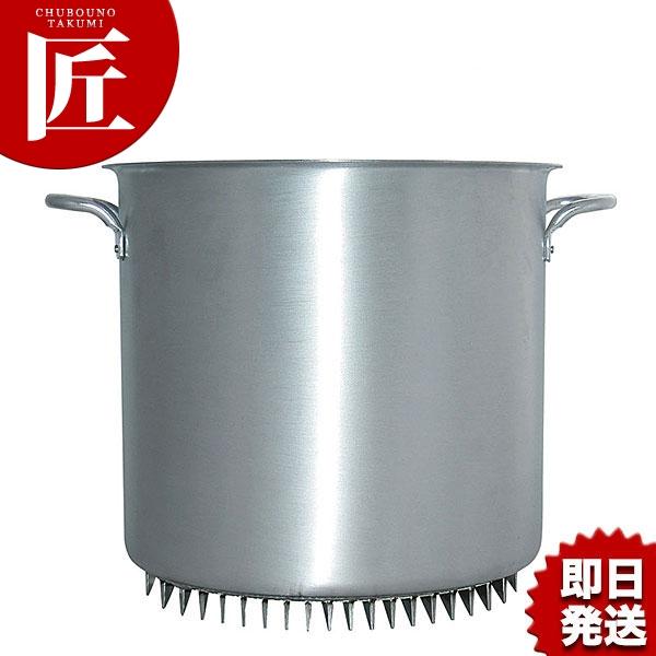 エコライン 寸胴鍋 蓋無し 51cm 100L アルミ 日本製【N】