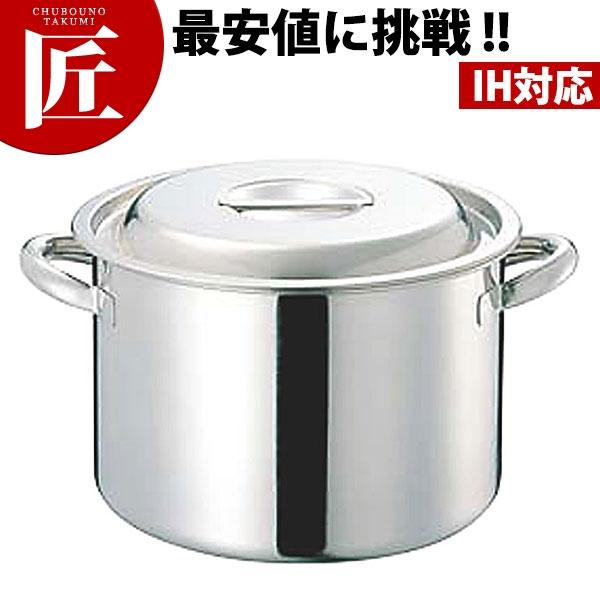CLO 電磁モリブデン半寸胴鍋(目盛付) 36cm 日本製【N】