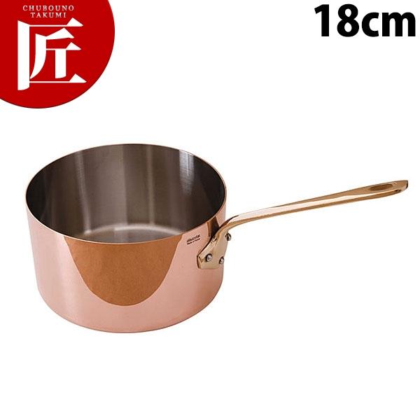 純銅製 片手ソースパン 18cm【N】