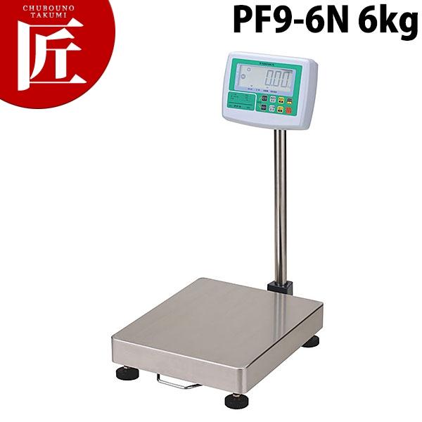 タナカデジタル台秤(プリンタ無) PF9-6N 6kg【N】