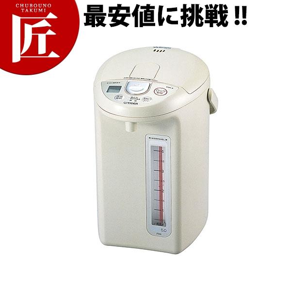 送料無料 タイガー マイコン電動ポット PDN-A500 (5.0L)【ctss】 卓上ポット ステンレスポット エアーポット 電気ポット