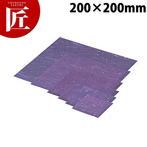 C30-416 金箔紙ラミネート 紫 20角 5000枚入【N】