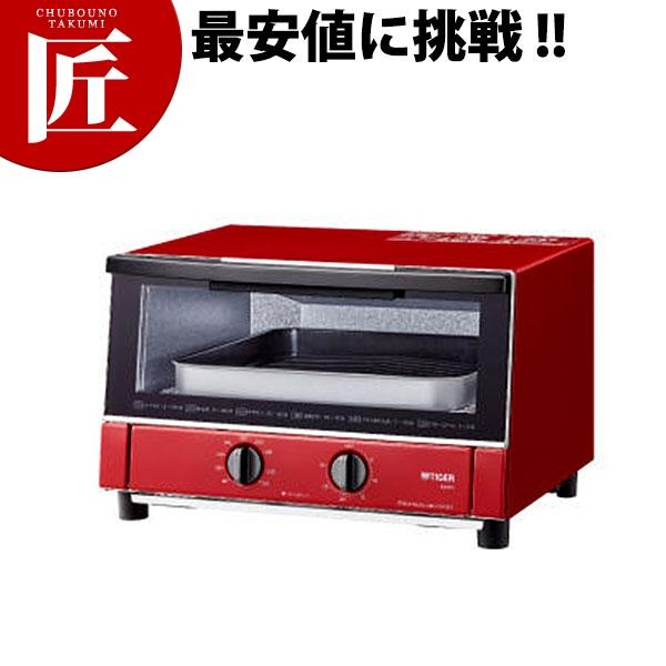 送料無料 タイガー オーブントースター やきたて KAM-S130 (R グロスレッド)【ctss】 トースター オーブントースター 領収書対応可能