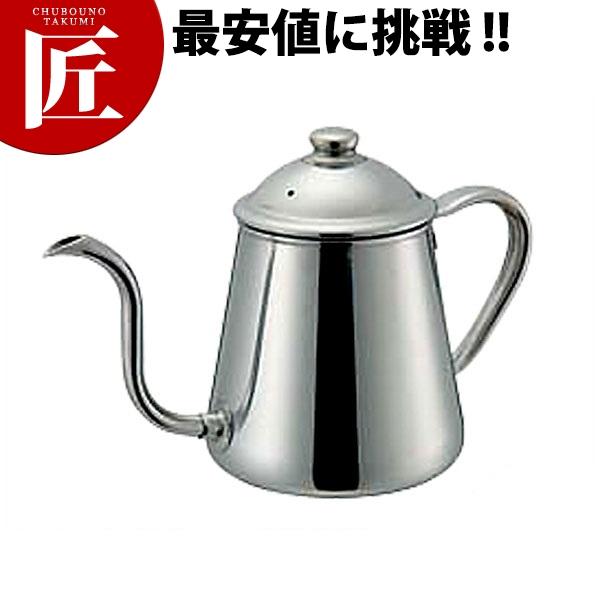18-8 コーヒードリップポット 500cc□ 業務用 コーヒーポット 業務用コーヒーポット ステンレスコーヒーポット 【ctss】