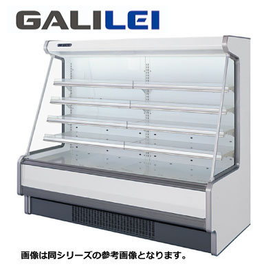 【新品 送料無料】■福島工業 フクシマ 冷凍機内蔵型 多段・低多段オープンショーケース HMX-85GETO4S 幅2518×奥行1110