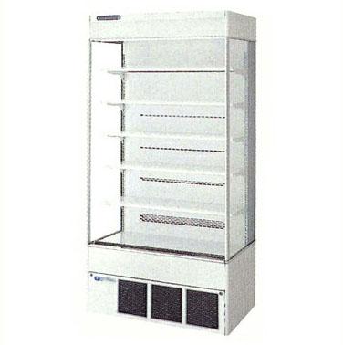 【新品 送料無料】■福島工業 フクシマ 冷凍機内蔵型 多段オープンショーケース MCU-35GKPOR-S 幅900×奥行600