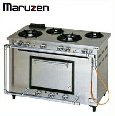新品送料無料■マルゼン デラックスタイプ ガスレンジ MGRD-126D
