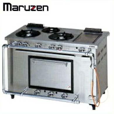 新品送料無料■マルゼン デラックスタイプ ガスレンジ MGRD-126TD