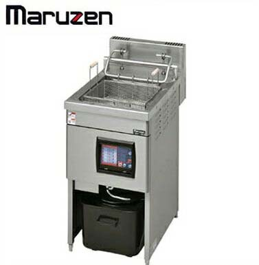 新品送料無料■マルゼン 電磁オートリフトフライヤー 1槽式 MIF-18LC W450×D735×H80