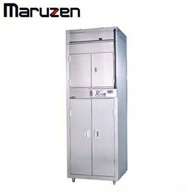 新品送料無料■マルゼン 食器消毒保管庫 棚8段 片面扉タイプ MSHA48-32S8E