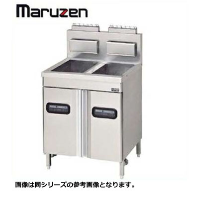 新品送料無料■マルゼン ガスフライヤー 1槽式 MXF-076FWB W700×D600×H85