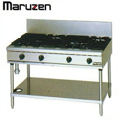 新品送料無料■マルゼン NEWパワークック ガステーブルRGT-1272C