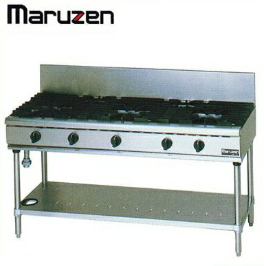 新品送料無料■マルゼン NEWパワークック ガステーブルRGT-1575C