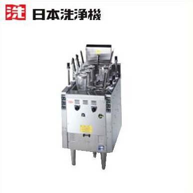 新品■送料無料■日本洗浄機 サニクック ガス式 自動ゆで麺機 UM651G 6テボ式 W510×D700