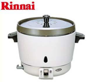 【新品】リンナイ■卓上型ガス炊飯器 内釜フッ素仕様 ■RR-15SF-1■送料無料(幅431×奥行331×高さ318)