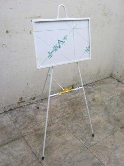 ヒカリ スチールメニュースタンド HSME-110 18F0216T 低廉 460×600×1070 店舗用メニュー看板白 最新 新品未使用