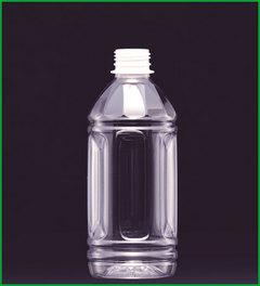 ハニー 耐熱ペットボトル 丸型 HTM-350 キャップ付(1ケース288本入り) 代引・配達日時指定不可