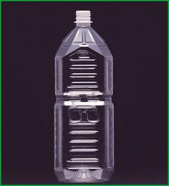 ハニー 耐熱ペットボトル 角型 HTK-2000-D3 キャップ付(1ケース70本入り) 代引・配達日時指定不可