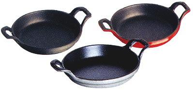 ストウブ ラウンドスタッカブルディッシュ 丸型グラタン皿 16cm