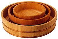 飯台(寿司飯用) さわら製 45cm 木桶