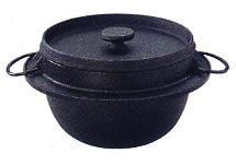 岩鋳 鉄ごはん鍋 5合炊き 21086
