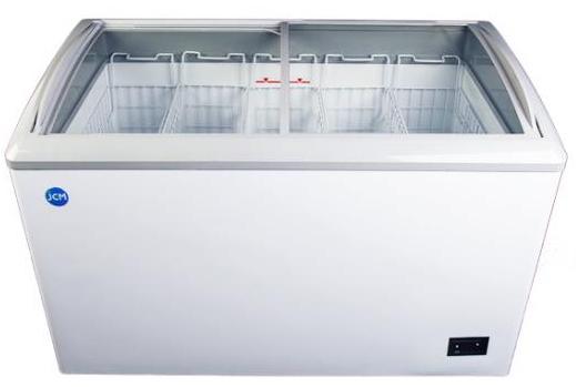 JCM 冷凍ショーケース 240L JCMCS-240 代金引換・時間帯指定不可