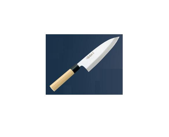 文明銀丁(和庖丁)出刃 22.5cm(片刃)