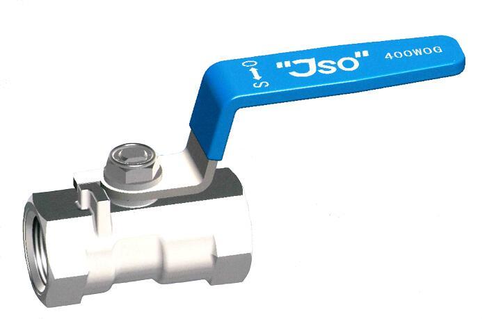 情熱セール 蒸気 空気 ガス 水 限定タイムセール 油などの一般配管に ステンレス鋼製 400型 ねじ込みボールバルブ 25A