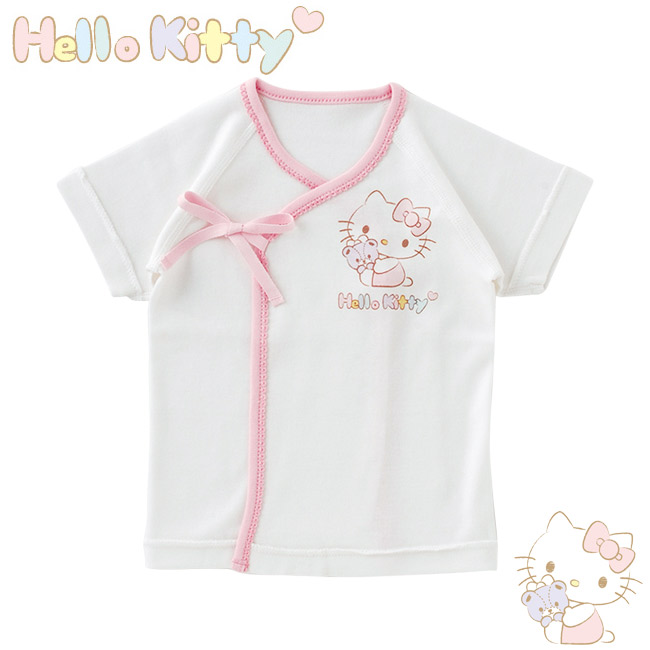 ada2ceda4da0d ハローキティ新生児肌着短肌着女の子ベビー服ベビー服キティちゃん出産祝いギフト赤ちゃん新生児