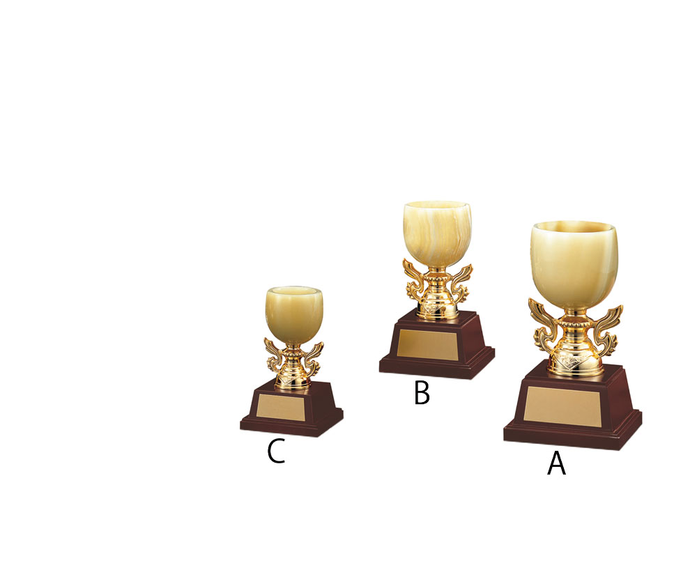 優勝カップ 高い素材 大特価!! オニックスカップ OC-1070 Aサイズ 22.5cm