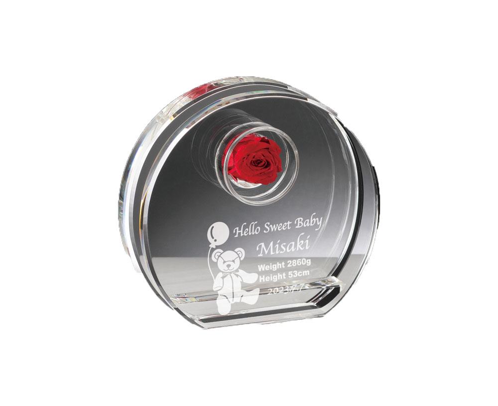 オーダー品[L324-3] ブリザーブドフラワー10cm×11cm