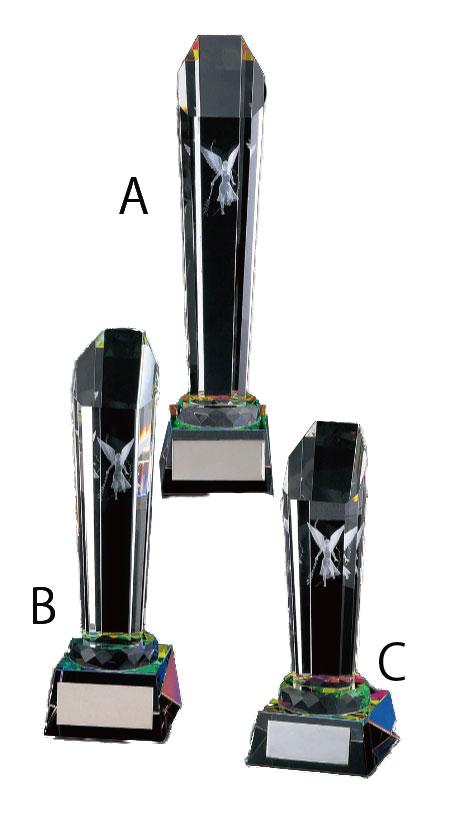 クリスタルトロフィー[KT-2784] Aサイズ 27cm