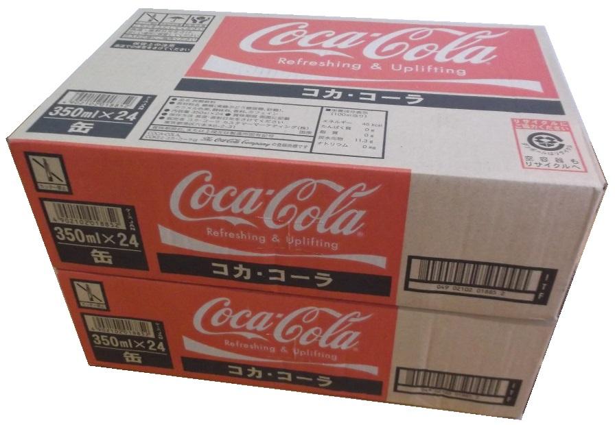 送料無料 350ml×48缶 2ケース コカコーラ コカ コーラ 爆買い新作 cocacola 炭酸飲料 350ml缶×48本 単品JAN4902102000055 1000ml ケースJAN4902102018852 160ml 1.5L 500ml 2000mlも販売中 350ml 280ml 250ml 2L 手数料無料