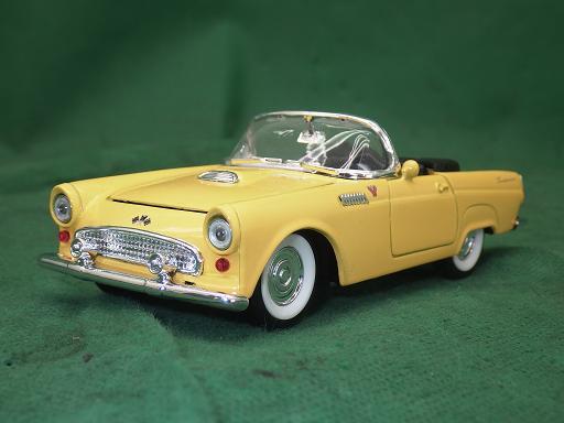 ミニカー 激安超特価 S SS5718 好評 フォード サンダーバード 中古 黄色