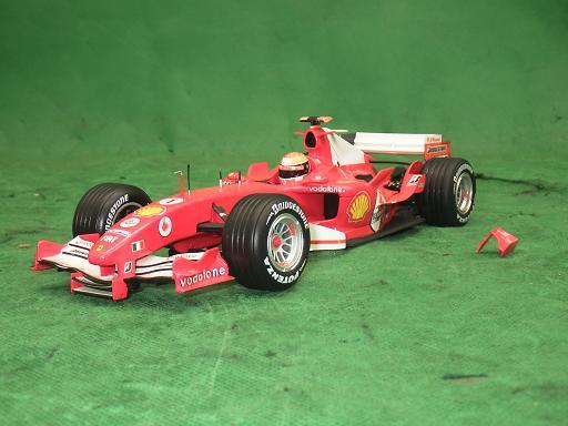 モデルカー フェラーリ2005 ランキング総合1位 MICHAEL 中古 正規品 ミハエル