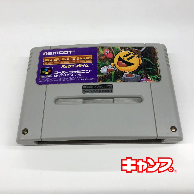 レトロゲーム スーパーファミコン PAC ついに再販開始 新作続 IN 良い-RE0001089 TIME 中古