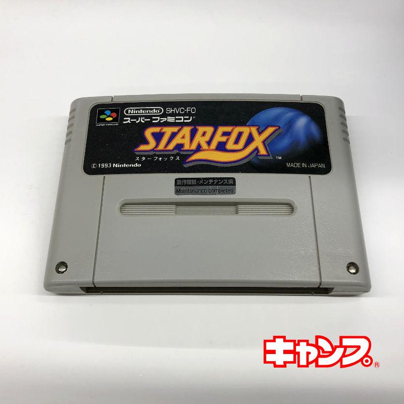レトロゲーム スーパーファミコン STAR 新作入荷 良い-RE0001096 中古 FOX 春の新作