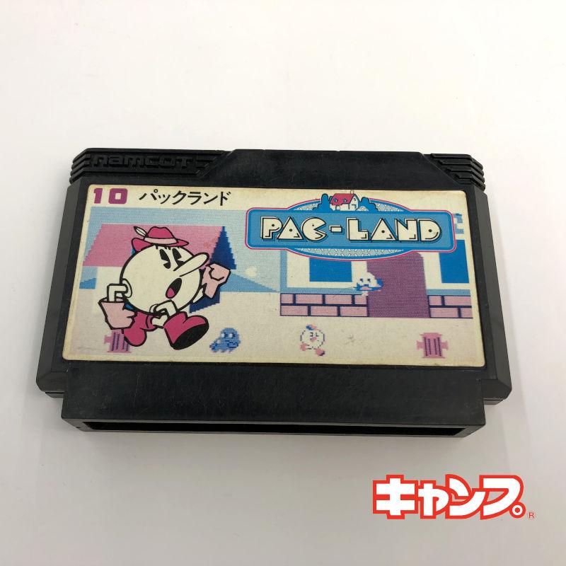 レトロゲーム 期間限定特価品 ファミコン 卸売り パックランド 中古 可-RE0001135