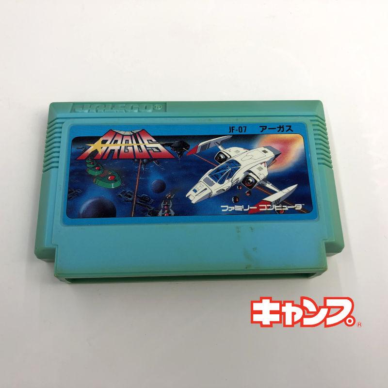 レトロゲーム ファミコン 在庫一掃 ストア アーガス 中古 良い-RE0001162