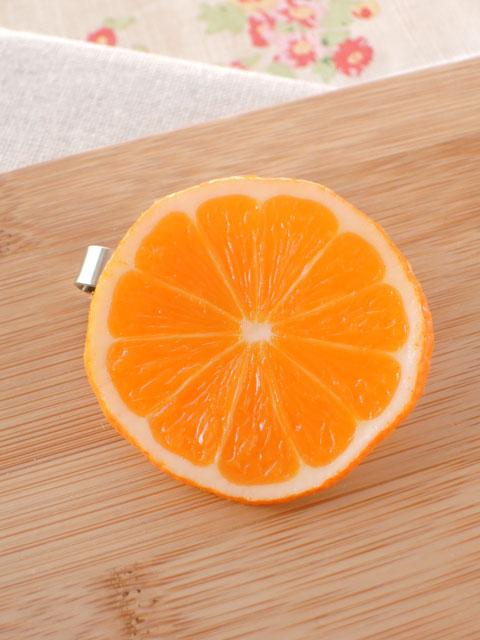 メール便200円での発送可能 新作続 ゴルフマーカー オレンジ ハンドメイド 激安 景品 食品サンプル コンペ グッズ