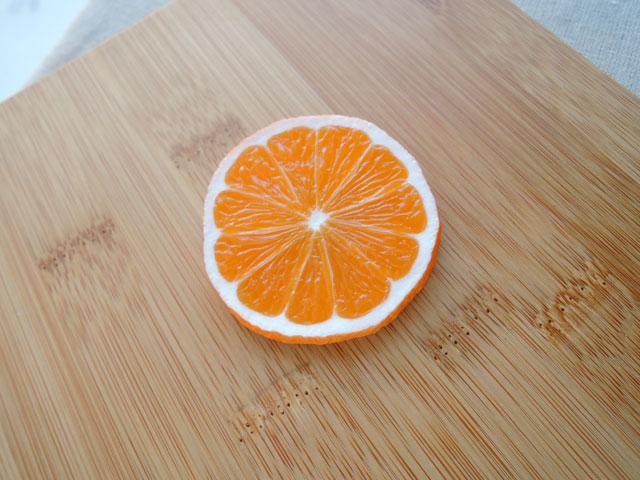メール便200円での発送可能 マグネット オレンジスライス グッズ ハンドメイド 送料無料 送料無料 食品サンプル