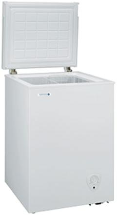 ノーフロスト 冷凍庫 チェストフリーザー JH94C(幅560奥行530高さ835)